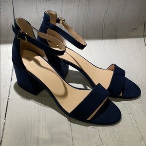 Kenneth Cole Reaction Holly Navy Sandal Shoes